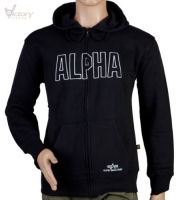 "Alpha Industries Kapuzensweatjacke ""Track"""