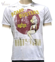"Alpha Industries T-Shirt ""Pin Up T"""