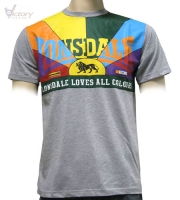 "Lonsdale London T-Shirt ""L. Loves all colours"""