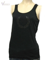 "Fred Perry Top/Laurel Print Vest ""G5702"""