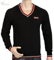 "Lonsdale London Slim Fit V-Neck Pullover ""Tophan"""