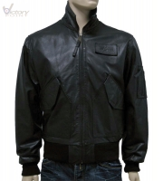 "Alpha Industries Jacke ""CWU Leather"""