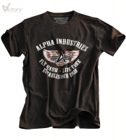 "Alpha Industries T-Shirt ""Flying A"""