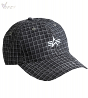 "Alpha Industries Cap ""Checked"""
