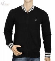 "Fred Perry Pullover/Knitted Bomber Jacke ""K8241"""