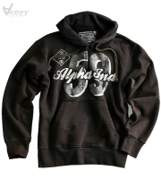"Alpha Industries Sweatshirt ""59 Print Hoody"""