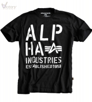 "Alpha Industries T-Shirt ""Basic T Print 4"""