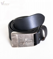 Alpha Industries Gürtel/Leather Belt I