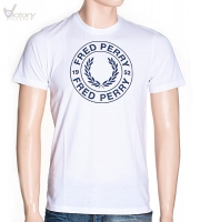 "Fred Perry Round Logo T-Shirt ""M8216"""