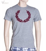 "Fred Perry Vintage Marl Laurel T-Shirt ""M8213"""