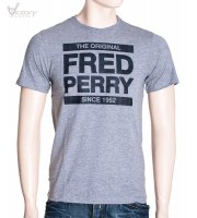 "Fred Perry Tartan Print T-Shirt ""M8217"""