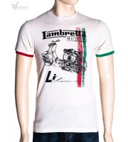 "Lambretta T-Shirt Twin Stripe ""LMK 7535"""