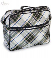 "Fred Perry Tasche/Tartan Shoulder Bag ""L6142"""