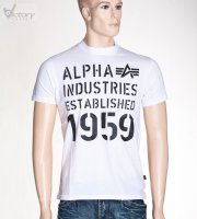 "Alpha Industries T-Shirt ""Basic T Print 5"""