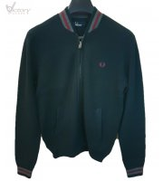 "Fred Perry Knitted Bomber Jacke ""K8241"""