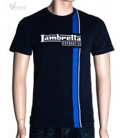 "Lambretta T-Shirt Twin Stripe ""LMK 7539"""