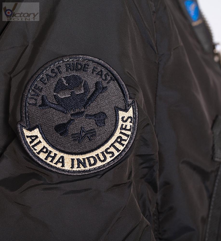 alpha industries jacket prop custom alpha industries. Black Bedroom Furniture Sets. Home Design Ideas